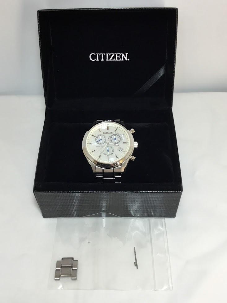 ○CITIZEN シチズン EXCEED エクシード E610-T018980 メンズ gn-4w-s 時計 WATCH ソーラー電波腕時計