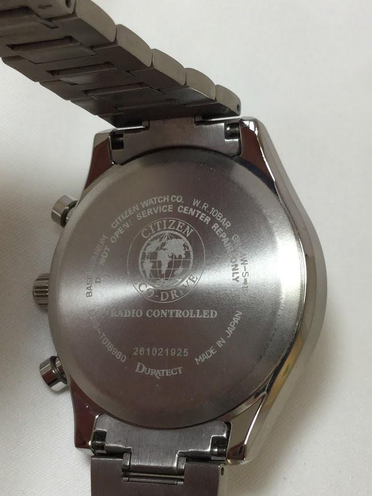 ○CITIZEN シチズン EXCEED エクシード E610-T018980 メンズ gn-4w-s 時計 WATCH ソーラー電波腕時計_画像6