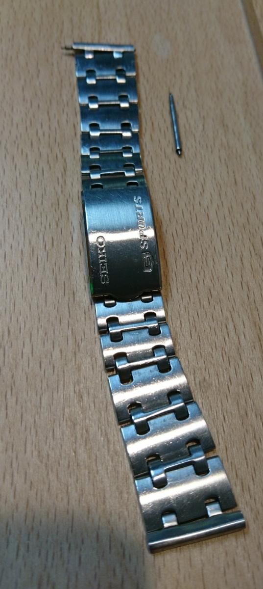 セイコー 5スポーツ スピードタイマー 腕時計 SEIKO 5SPORTS Speed-Timer127513 動作確認済み ファイブスポーツ 70's 自動巻クロノグラフ_画像5