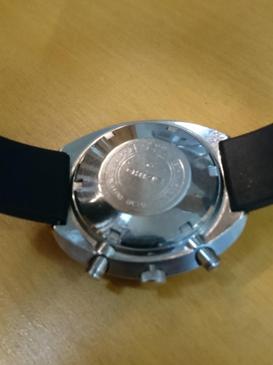 セイコー 5スポーツ スピードタイマー 腕時計 SEIKO 5SPORTS Speed-Timer127513 動作確認済み ファイブスポーツ 70's 自動巻クロノグラフ_画像3