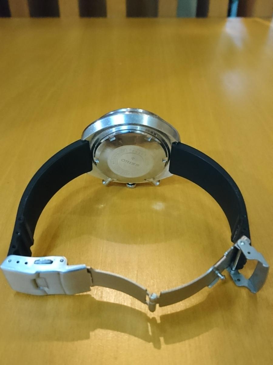 セイコー 5スポーツ スピードタイマー 腕時計 SEIKO 5SPORTS Speed-Timer127513 動作確認済み ファイブスポーツ 70's 自動巻クロノグラフ_画像4