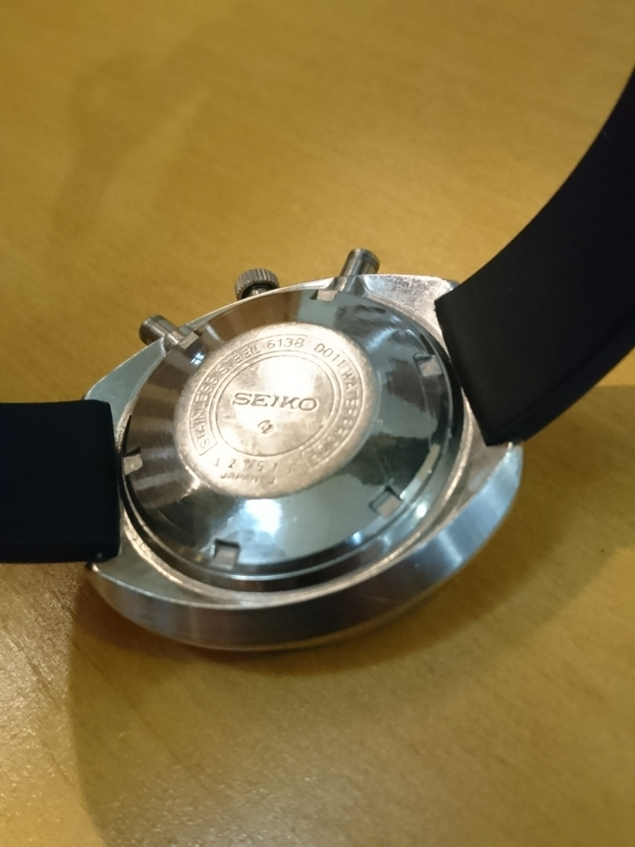 セイコー 5スポーツ スピードタイマー 腕時計 SEIKO 5SPORTS Speed-Timer127513 動作確認済み ファイブスポーツ 70's 自動巻クロノグラフ_画像2