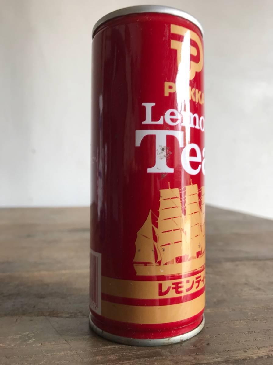 ポッカ POKKA レモンティー 缶 未開封 昭和 レトロ 空き缶_画像5