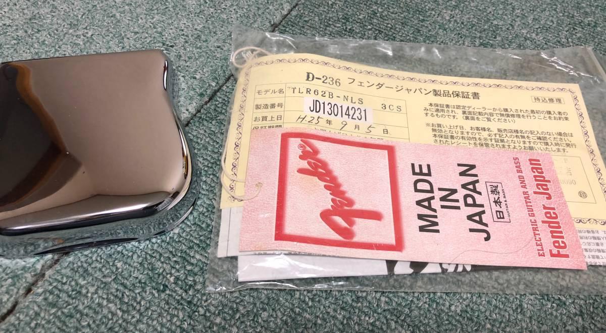 Fender Japan TLR62B-NLS 2013年製 / フェンダージャパン / TELE_画像10