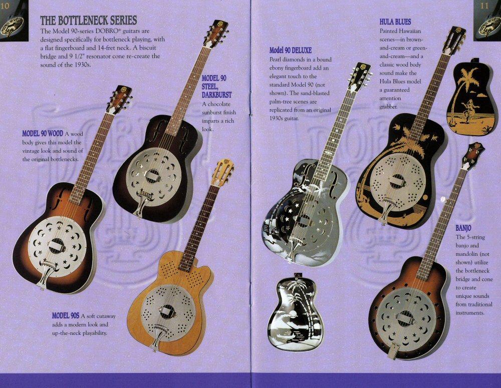 ビンテージ 超希少 dobro model 90S 1996年製 リゾネーターギター ドブロ 中古美品 National ナショナル_画像9