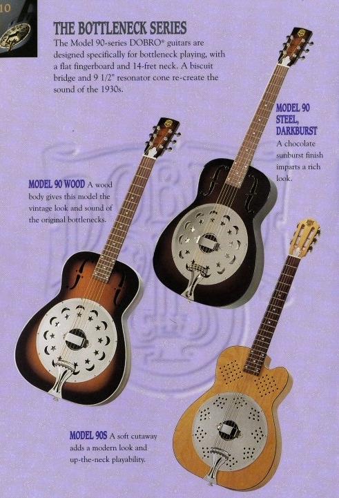 ビンテージ 超希少 dobro model 90S 1996年製 リゾネーターギター ドブロ 中古美品 National ナショナル_画像10