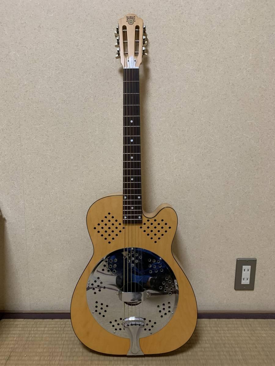 ビンテージ 超希少 dobro model 90S 1996年製 リゾネーターギター ドブロ 中古美品 National ナショナル