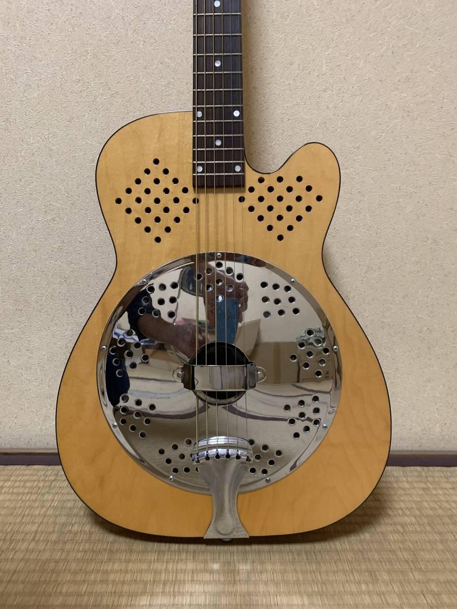ビンテージ 超希少 dobro model 90S 1996年製 リゾネーターギター ドブロ 中古美品 National ナショナル_画像3