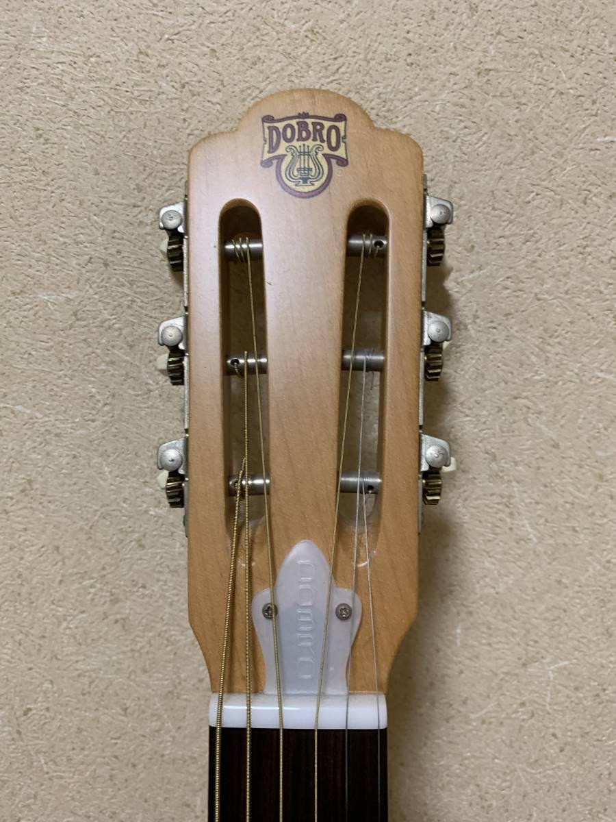 ビンテージ 超希少 dobro model 90S 1996年製 リゾネーターギター ドブロ 中古美品 National ナショナル_画像2