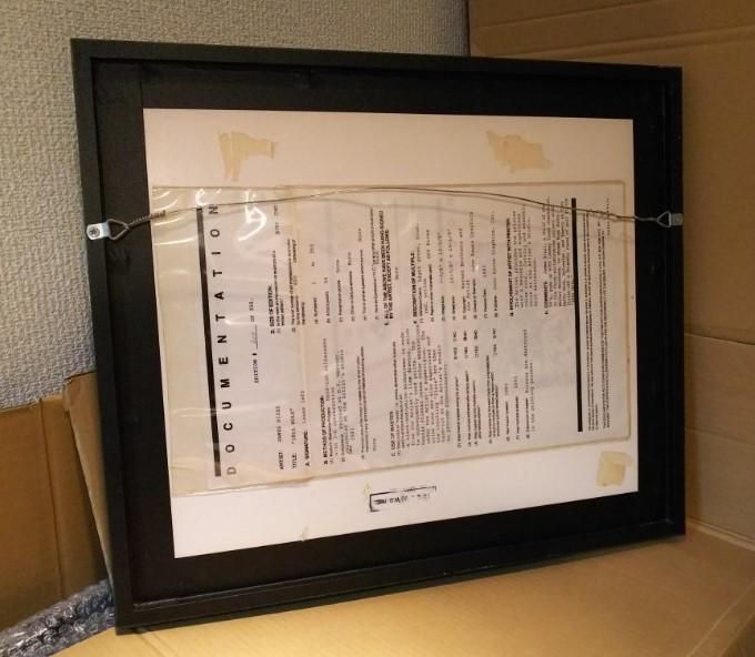 限定品208/350 ジェームス・リジィ 3Dアート シルクスクリーン 『18th HOLE』 ワーナー・ブラザース コラボ 作家サインあり※USED品/貴重品_画像4