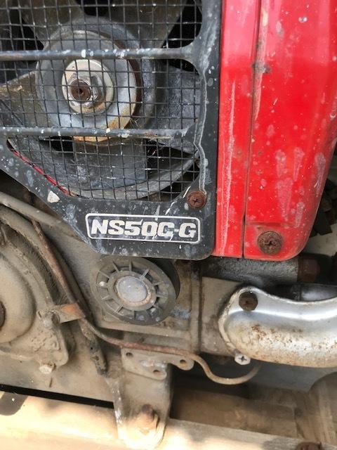 ヤンマー ディーゼルエンジン NS50C-G 売切り!_画像5