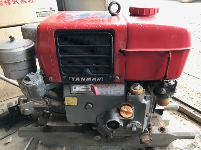 ヤンマー ディーゼルエンジン NS50C-G 売切り!