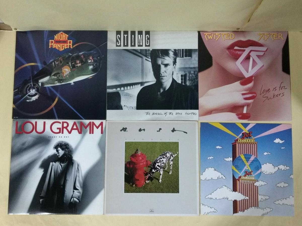 洋楽レコード 60枚セット 国内盤49枚 輸入盤11枚_画像10