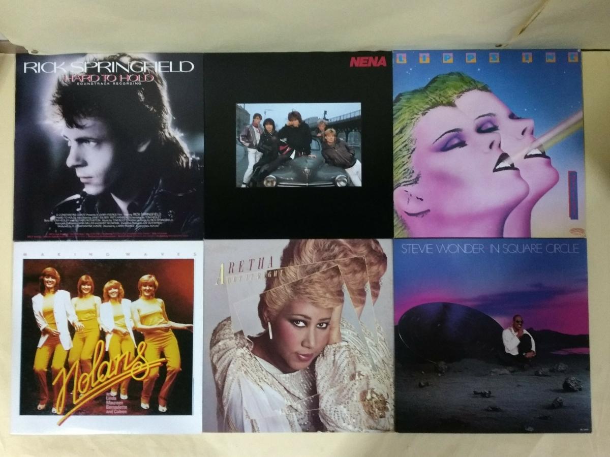 洋楽レコード 60枚セット 国内盤49枚 輸入盤11枚_画像6