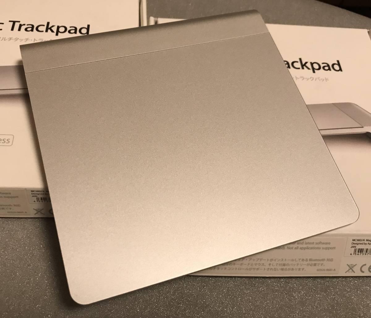 Apple/アップル Magic Trackpad MC380J マジック トラックパッド 中古品_画像2