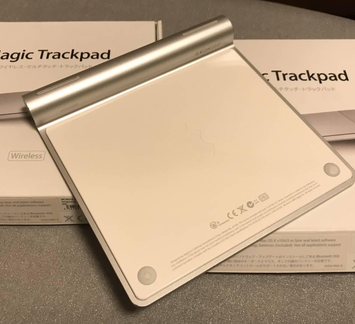 Apple/アップル Magic Trackpad MC380J マジック トラックパッド 中古品_画像3