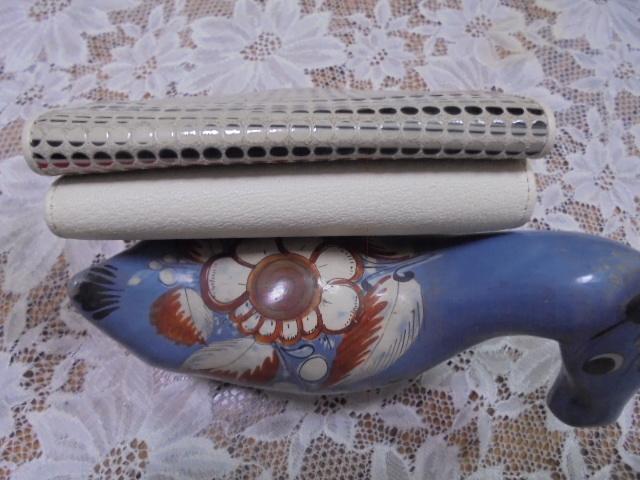 価3万 希少モデル HIROKO HAYASHI ヒロコハヤシ ポーチ付 財布 廃番モデル 限定_画像3