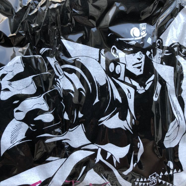 ジョジョの奇妙な冒険 スターダストクルセイダース Blu-ray Vol.5 初回生産限定特典 空条承太郎 Tシャツ_画像2