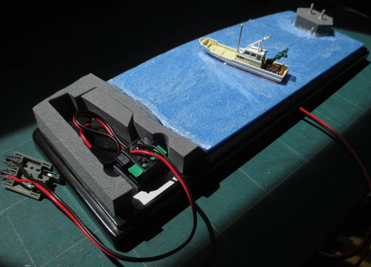 参考 製作途中 電気配線参考
