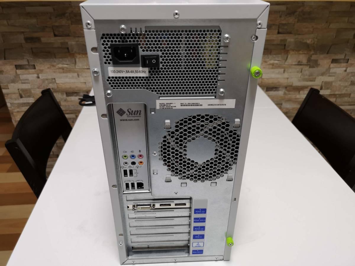 Sun Ultra 27 Xeon W3540 2.93GHz 146GBx4台(SAS HDD 3.5インチ/RAID) FX1800 _画像4