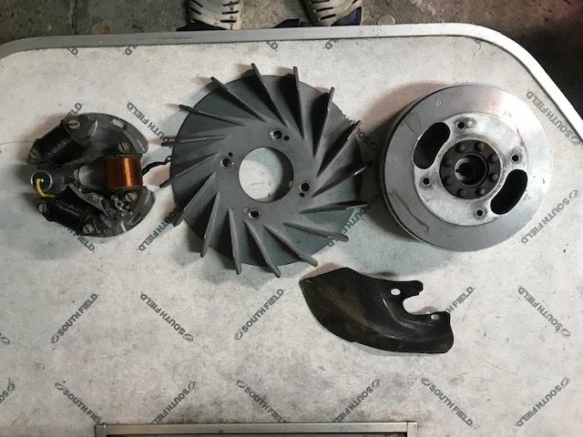 VESPA ベスパ メッサーシュミット T3 Messerschmitt エンジン デロルト キャブレター_画像9