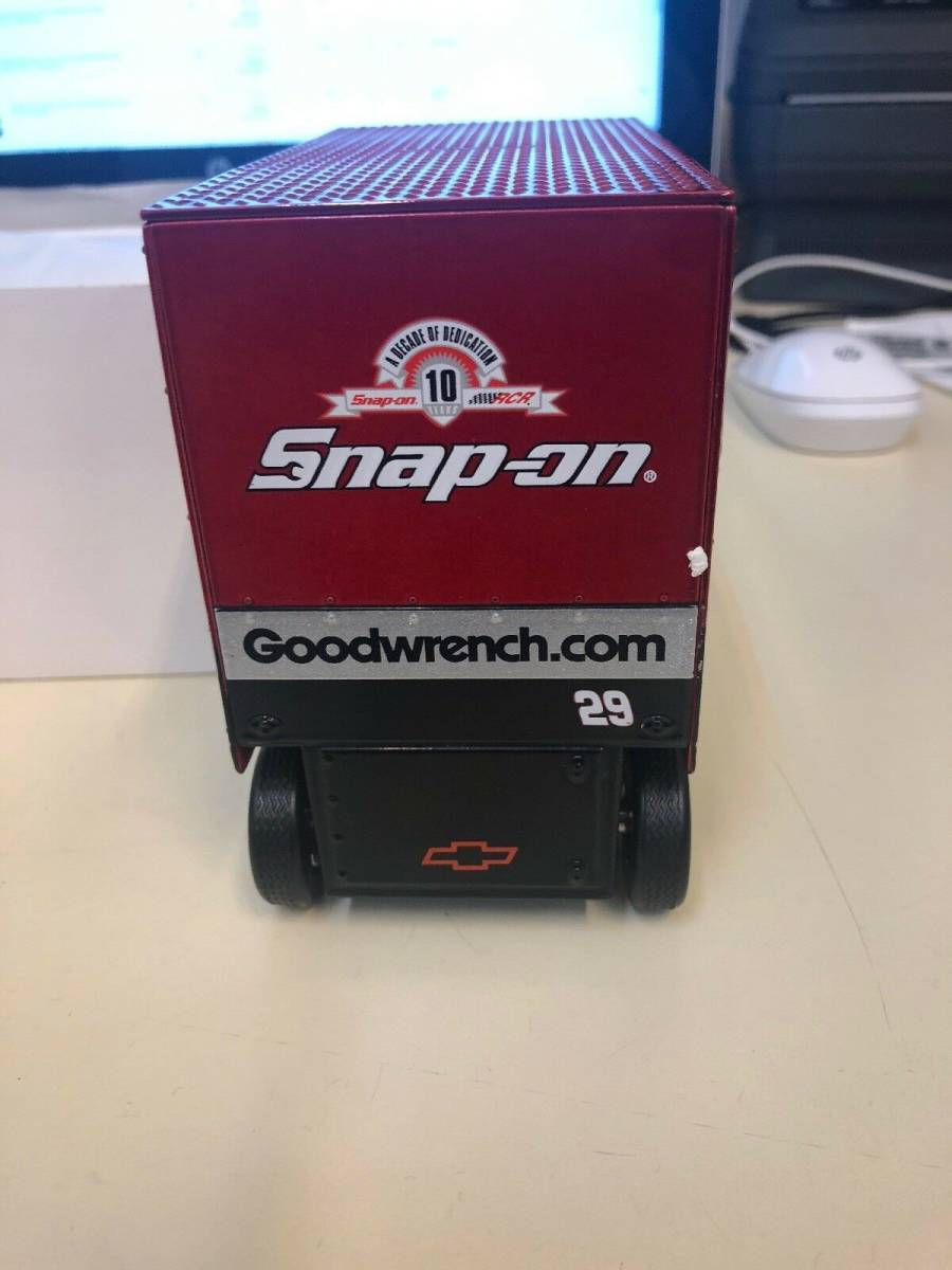 R740 Vintage Snap On Tools Action 1:16 Scale Pit Wagon 29 Kevin Harvick 1 Of 7494 1:16スケールピットワゴン29 Kevin Harvick_画像5