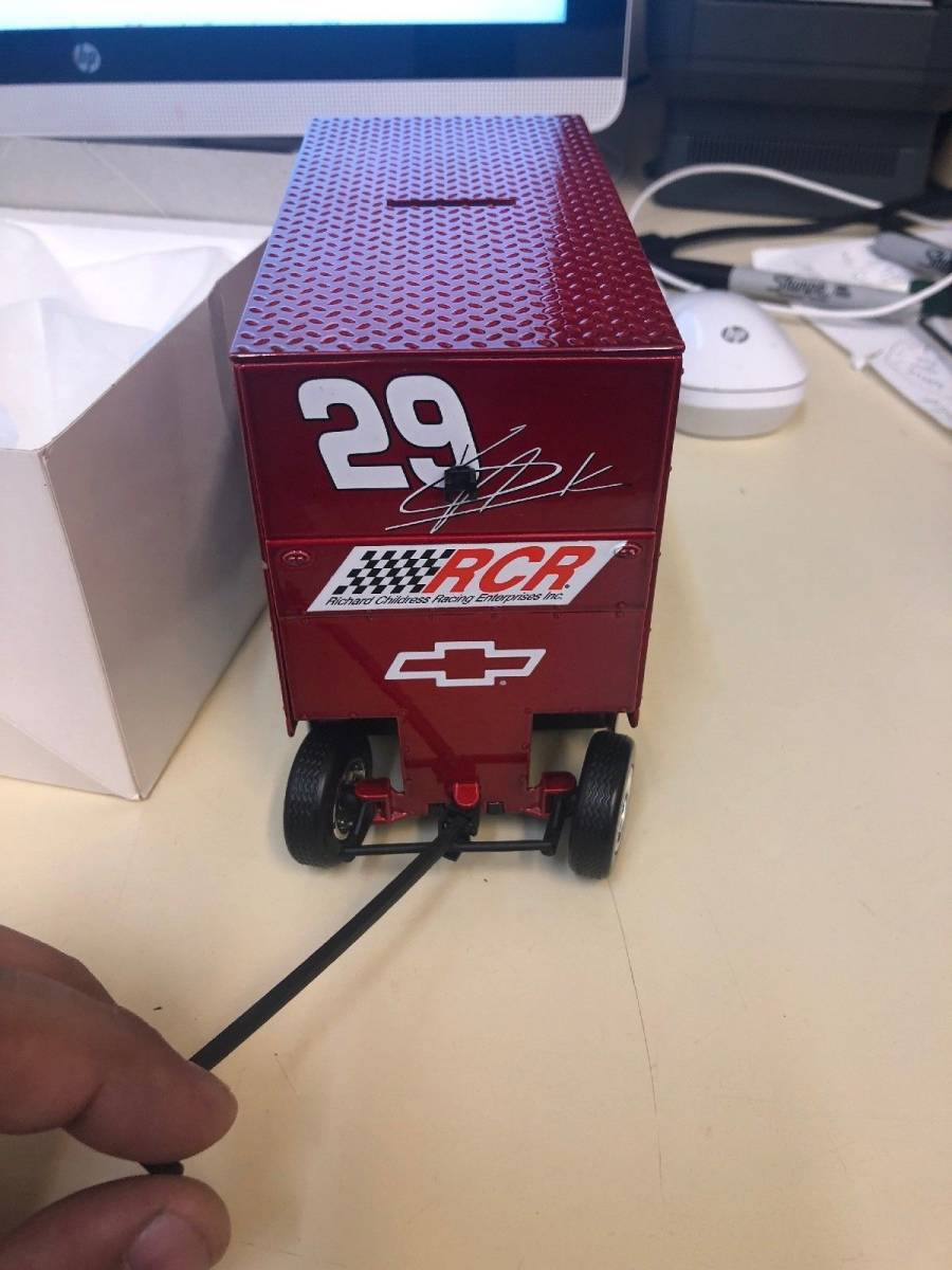 R740 Vintage Snap On Tools Action 1:16 Scale Pit Wagon 29 Kevin Harvick 1 Of 7494 1:16スケールピットワゴン29 Kevin Harvick_画像8