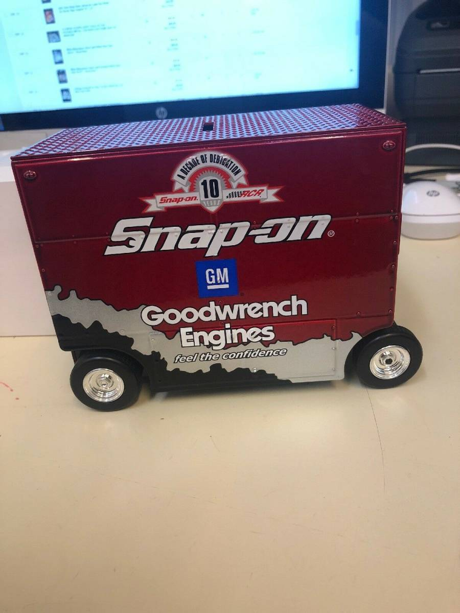 R740 Vintage Snap On Tools Action 1:16 Scale Pit Wagon 29 Kevin Harvick 1 Of 7494 1:16スケールピットワゴン29 Kevin Harvick_画像6