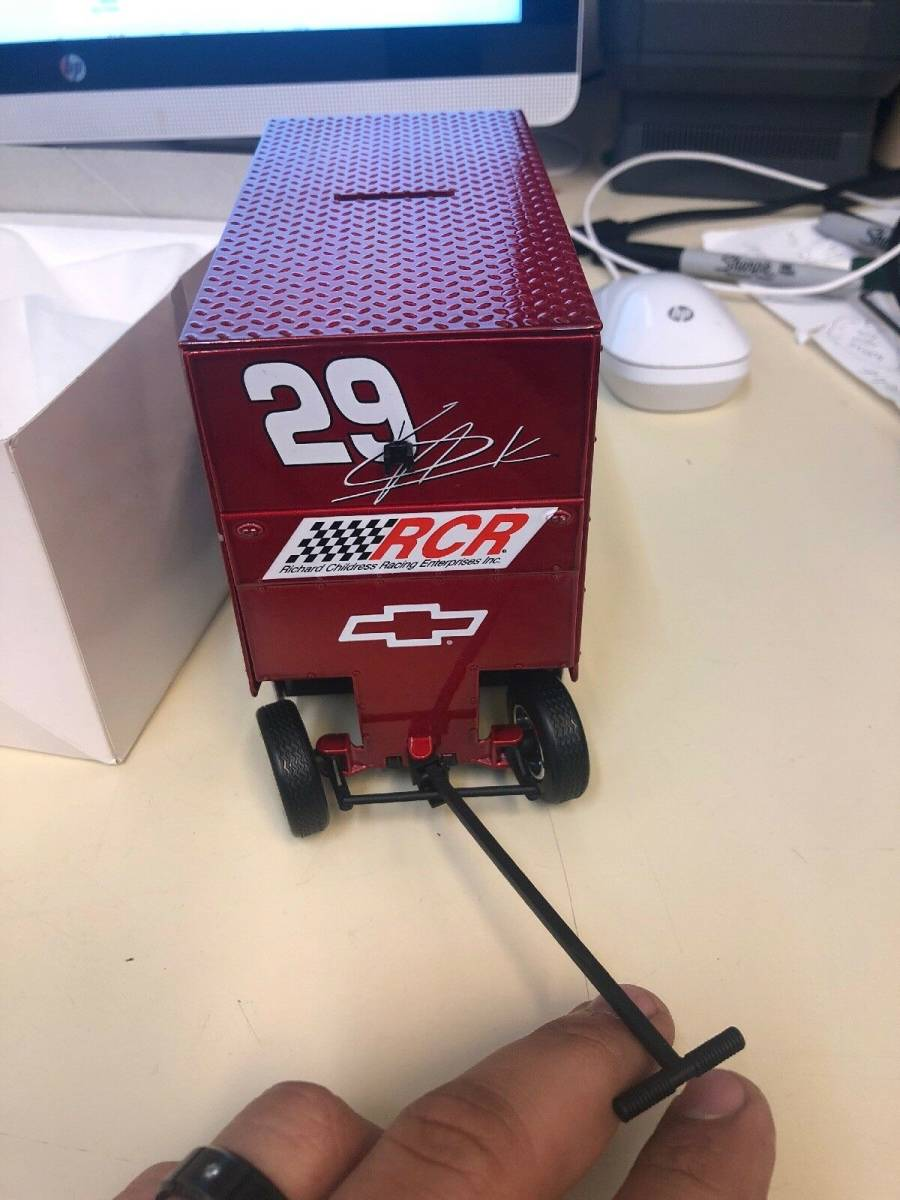 R740 Vintage Snap On Tools Action 1:16 Scale Pit Wagon 29 Kevin Harvick 1 Of 7494 1:16スケールピットワゴン29 Kevin Harvick_画像7