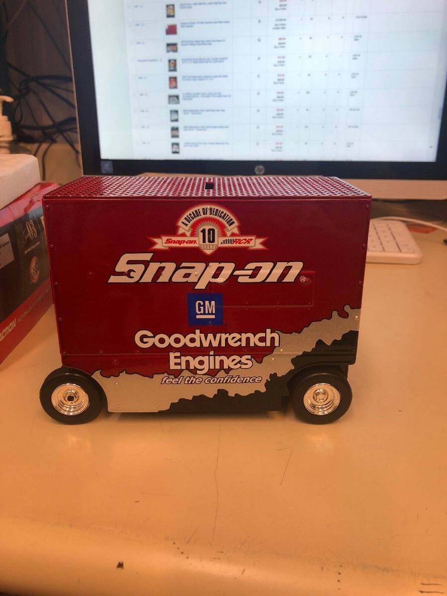 R740 Vintage Snap On Tools Action 1:16 Scale Pit Wagon 29 Kevin Harvick 1 Of 7494 1:16スケールピットワゴン29 Kevin Harvick_画像3