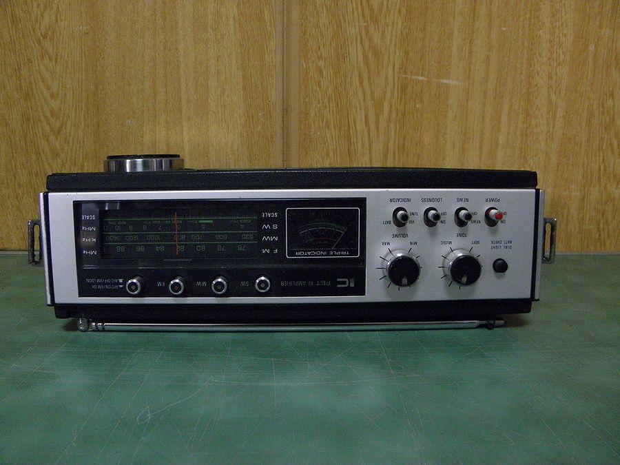 National ナショナル ラジオ RF-868 2000GX ワールドボーイ ジャンク_画像5