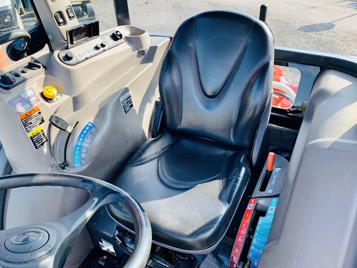 クボタ KL505H ハイスピード エアコンキャビン付き 高速パワクロ 50馬力 中古 トラクターです。_画像7