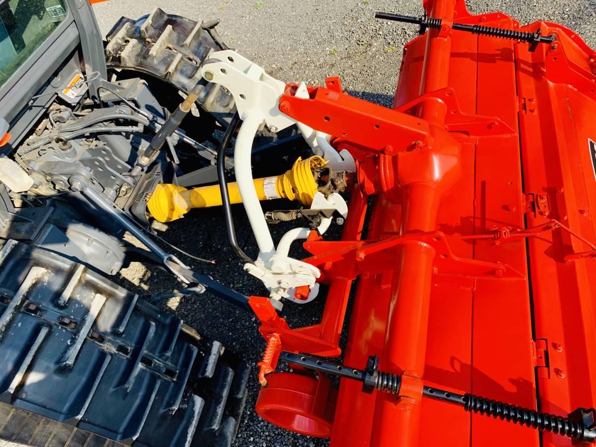 クボタ KL505H ハイスピード エアコンキャビン付き 高速パワクロ 50馬力 中古 トラクターです。_画像8