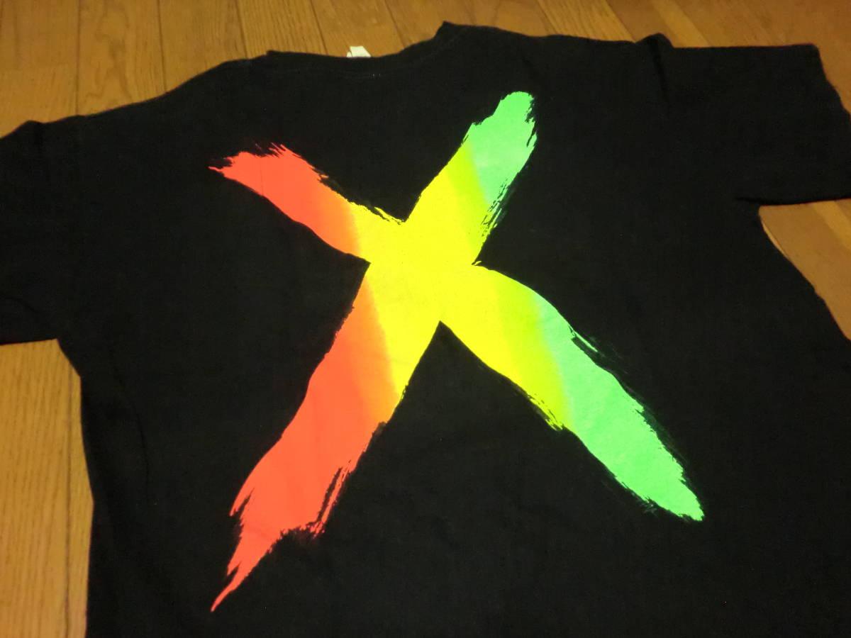 ビンテージ 90s USA製 マルコムX Tシャツ L ブラック 黒 ラスタカラー スパイクリー 40acres クロスカラーズ _画像3