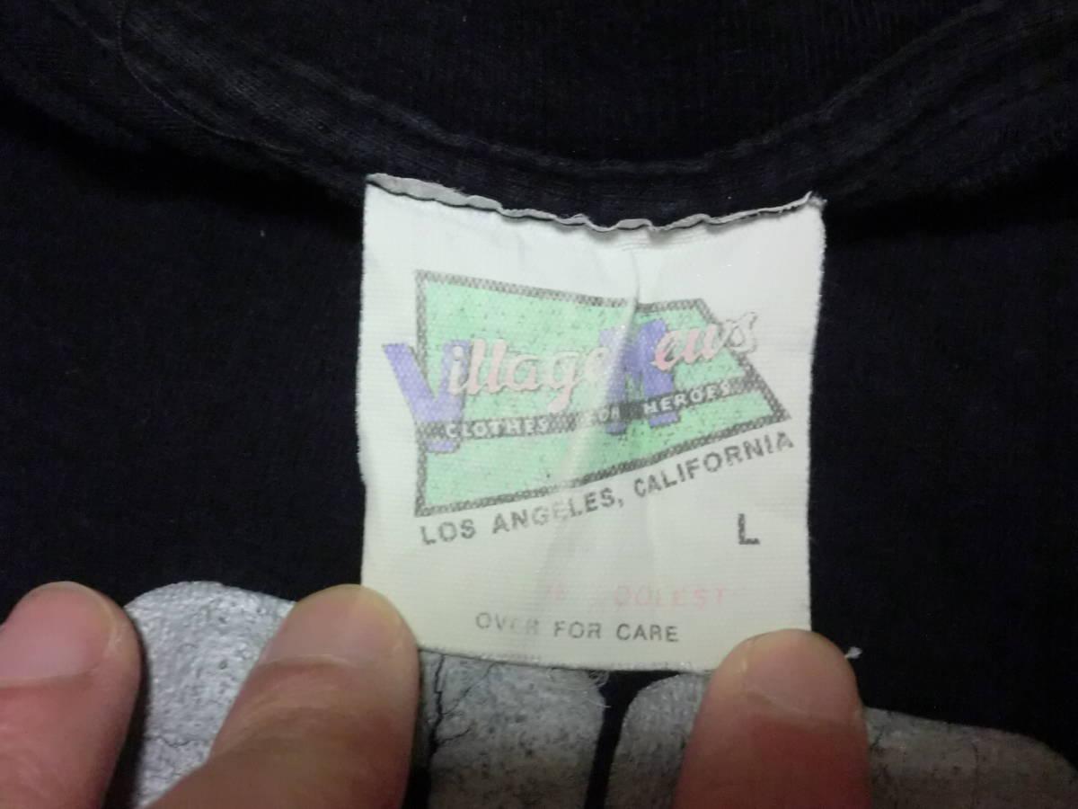ビンテージ 90s USA製 マルコムX Tシャツ L ブラック 黒 ラスタカラー スパイクリー 40acres クロスカラーズ _画像6