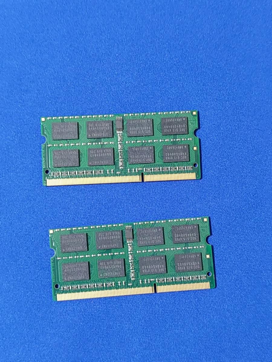 ★中古部品★ Mac mini 2012 late DDR3-1600 S.O.DIMM メモリー 16GB(8GB×2枚)_画像3