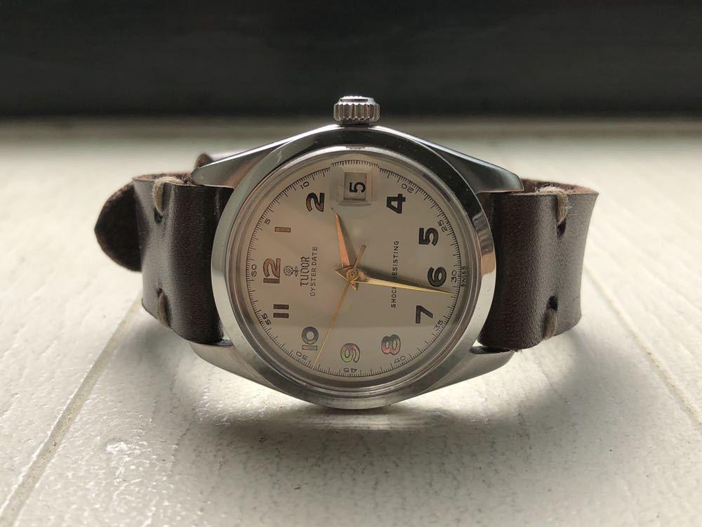 timeless design 413aa 61750 代購代標第一品牌- 樂淘letao - 送料無料OH済TUDOR OYSTER DATE ...