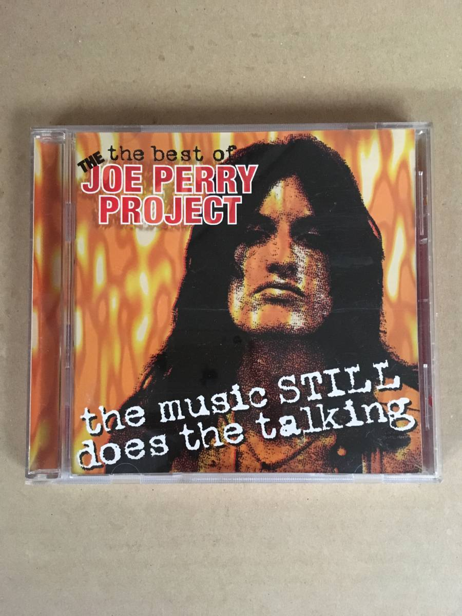 The Best of the Joe Perry Project : The Music Still Does the Talking 希少 輸入盤 ジョー ペリー エアロスミス aerosmith b'z_画像1