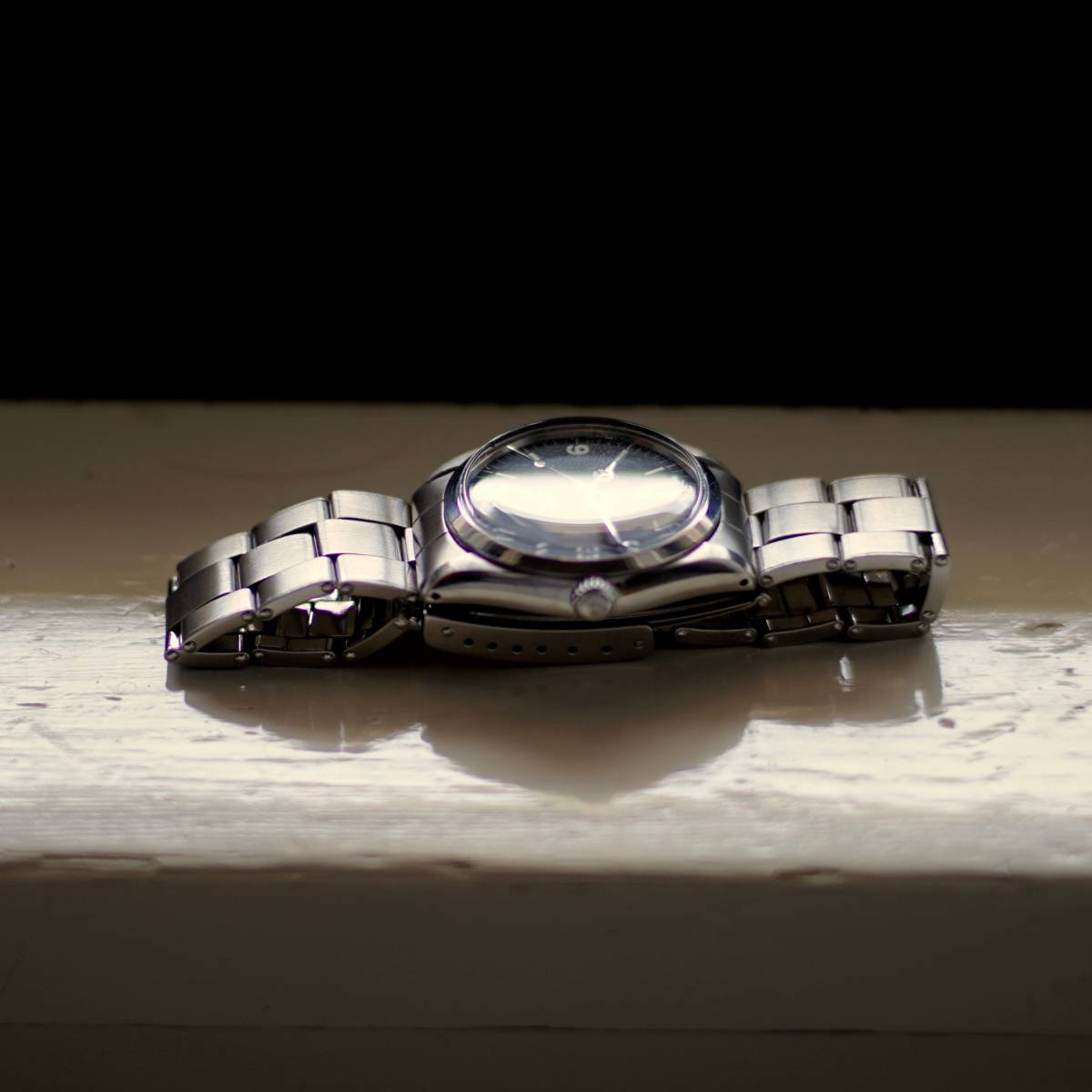 超美品 Rolex 5500 Explorer Cartier Wネーム カルティエ ロレックス エクスプローラー 5500 リダン OH済 仕上げ済 リベットブレス_画像7