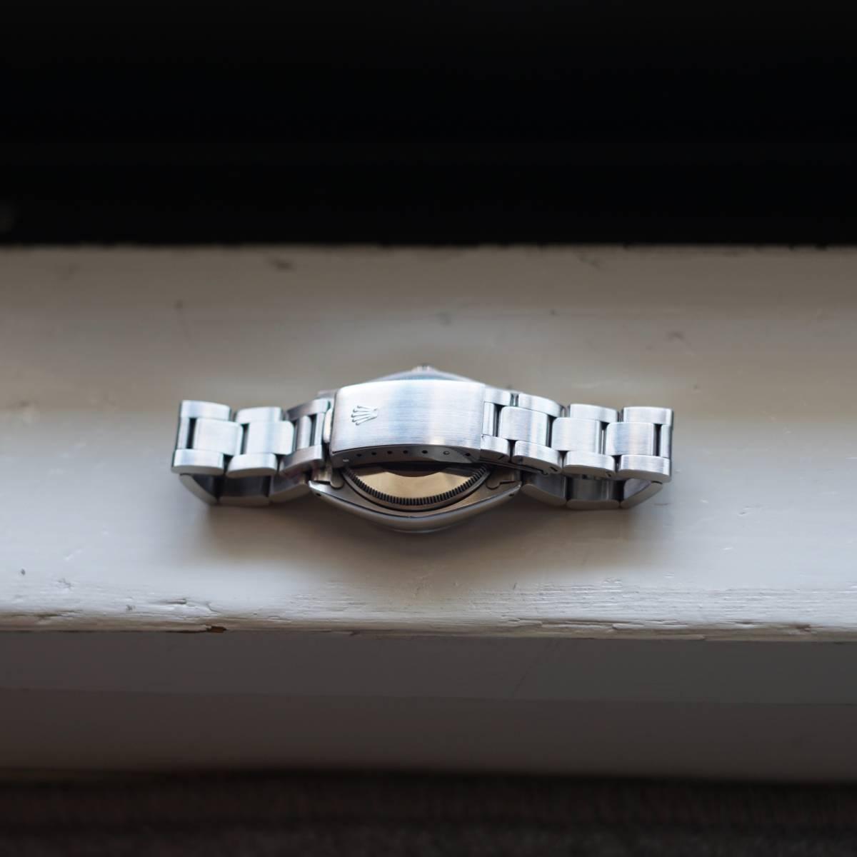 超美品 Rolex 5500 Explorer Cartier Wネーム カルティエ ロレックス エクスプローラー 5500 リダン OH済 仕上げ済 リベットブレス_画像5