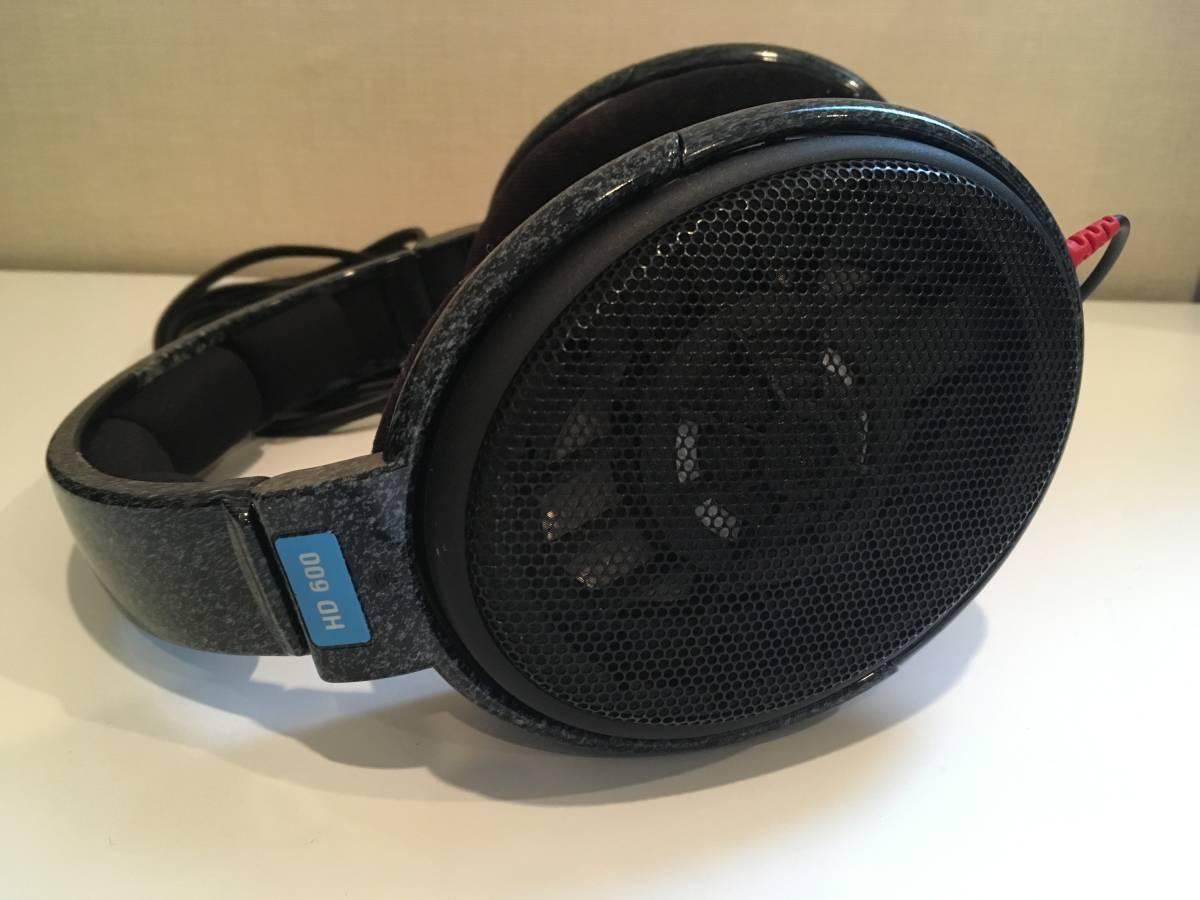 【中古】ゼンハイザー/SENNHEISER HD600 ダイナミックオープンエア・ヘッドホン(ヘッドフォン) ハイグレードモデル_画像5