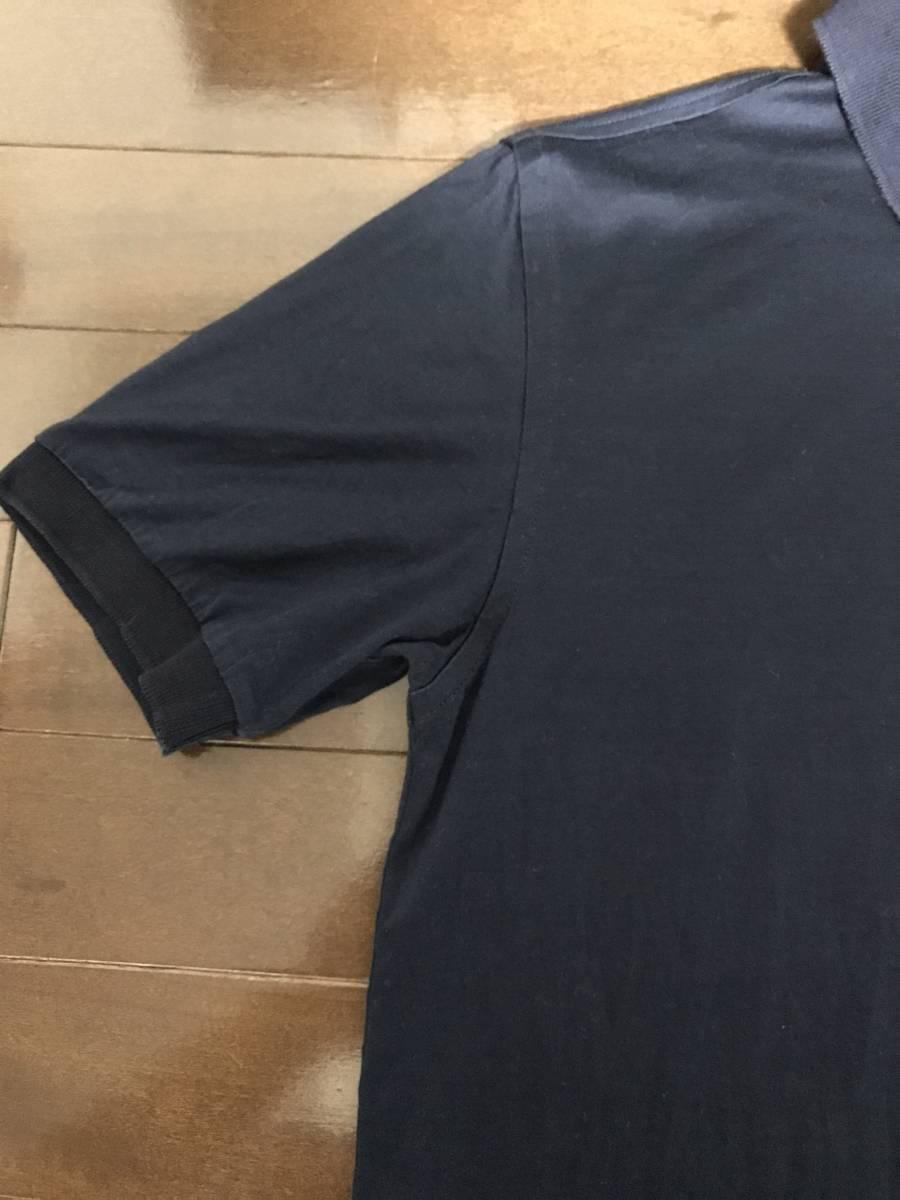 アットリーニ 44 ネイビー ポロシャツ サルトリア _画像3