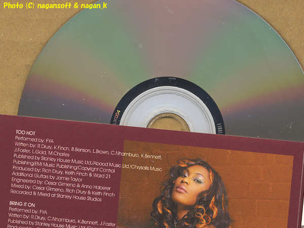 ★即決★ FYA (ファイヤ) / For Your Attention -- 2004年ファーストアルバム。Slough出身、ジンバブエ出身、ジャマイカ出身の3人で結成_メディアにキズあり