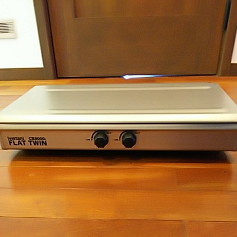 Iwataniツーバーナー フラットツインCB8000F(スノーピーク ツーバーナー収納ケース付)_画像4