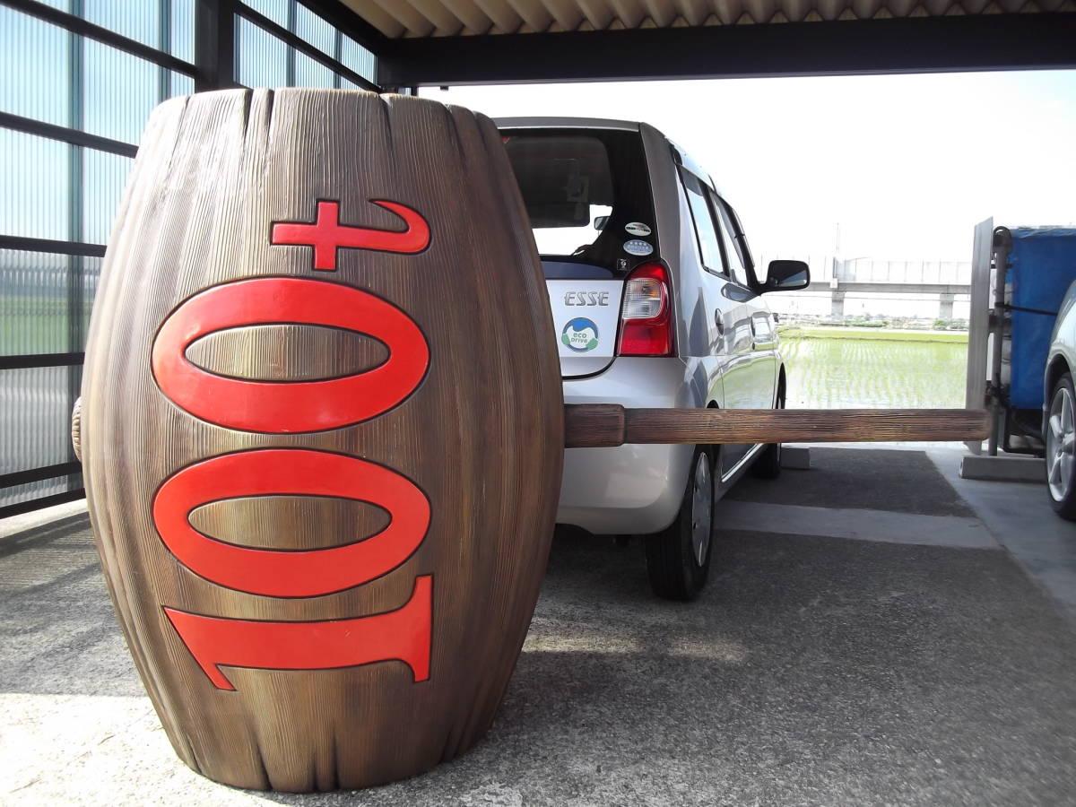 シティーハンター 原寸大100tハンマーと北条司先生のサインプレート