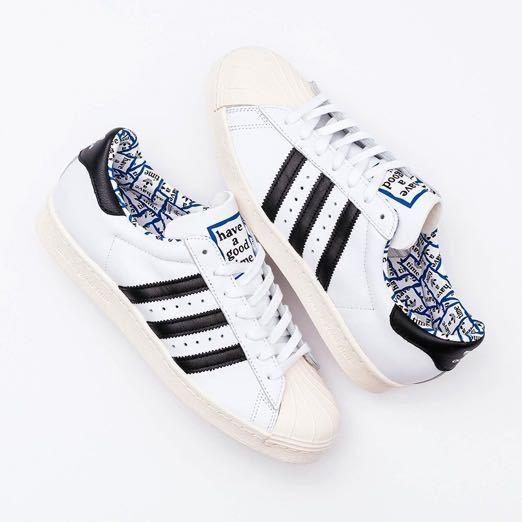 送料込【新品未使用】Adidas x Have A Good Time スーパースター 27.5 ㎝ / アディダス × ハブアグッドタイム_画像2