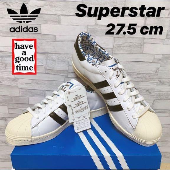送料込【新品未使用】Adidas x Have A Good Time スーパースター 27.5 ㎝ / アディダス × ハブアグッドタイム