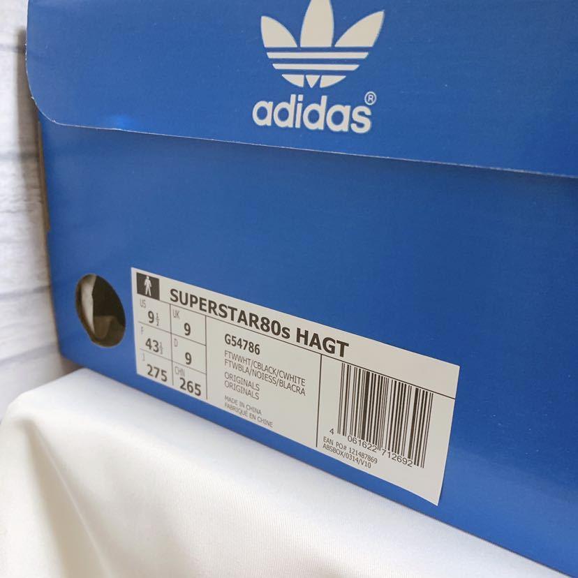 送料込【新品未使用】Adidas x Have A Good Time スーパースター 27.5 ㎝ / アディダス × ハブアグッドタイム_画像7