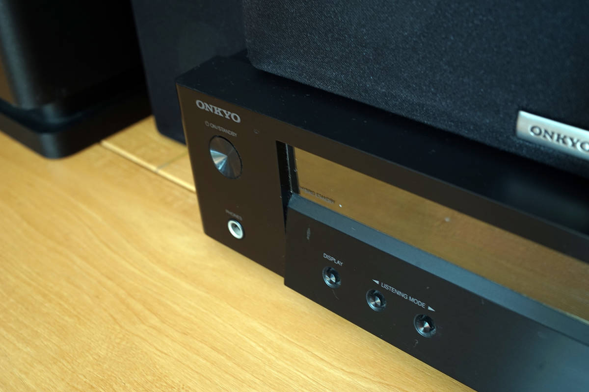 【美品】ONKYO シネマパッケージ 2.1ch ハイレゾ音源対応 ブラック BASE-V50(B) + センタースピーカーシステム ブラック D-109C_画像5