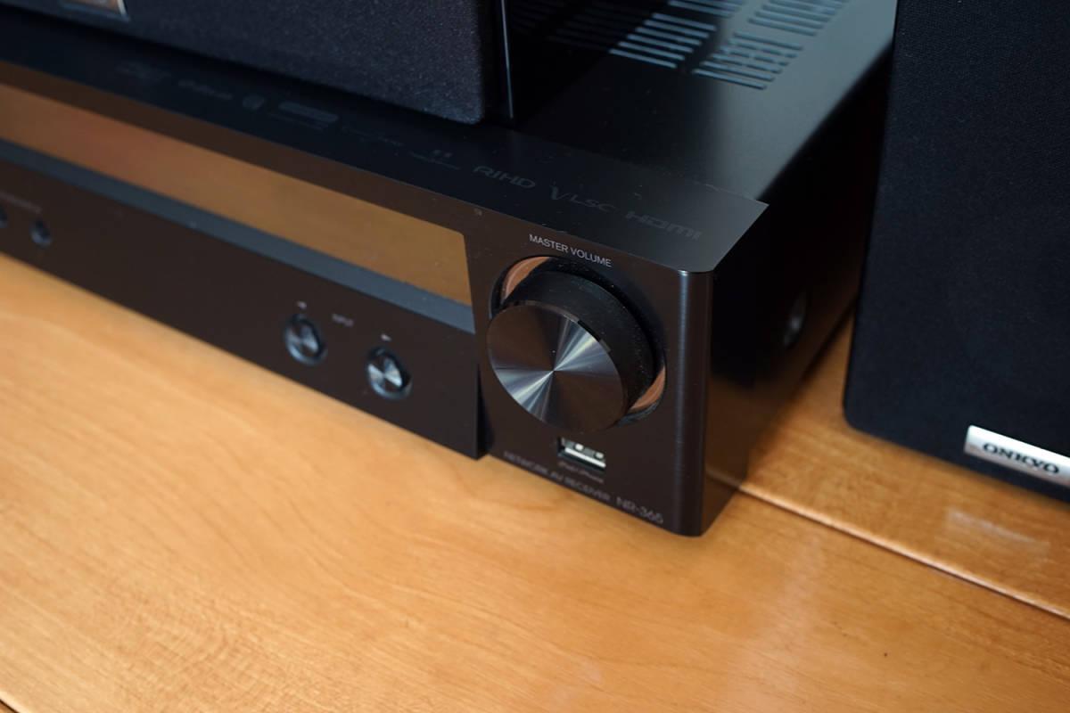 【美品】ONKYO シネマパッケージ 2.1ch ハイレゾ音源対応 ブラック BASE-V50(B) + センタースピーカーシステム ブラック D-109C_画像6